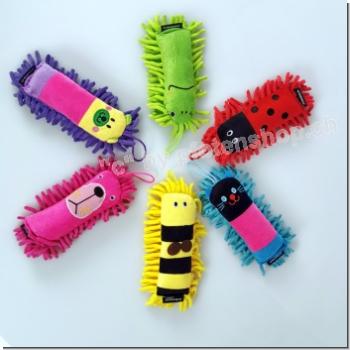 Fussel Tiere mit Handschlaufe Farben Assortiert